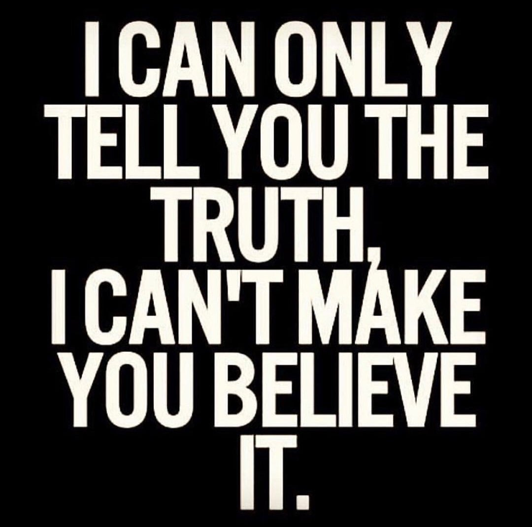 Life's Challenge : To Love the Truth Even If You Don't Like The One